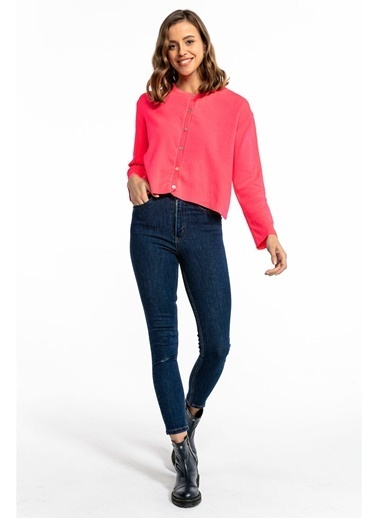 Tiffany&Tomato Yüksek Bel Skinny Jean Pantolon - Siyah Mavi